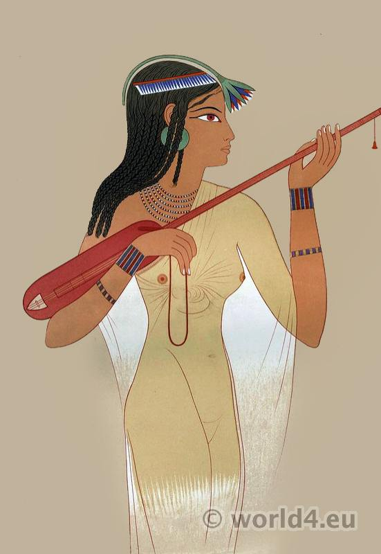 Egyptian, costume, Ancient, clothing, dress,