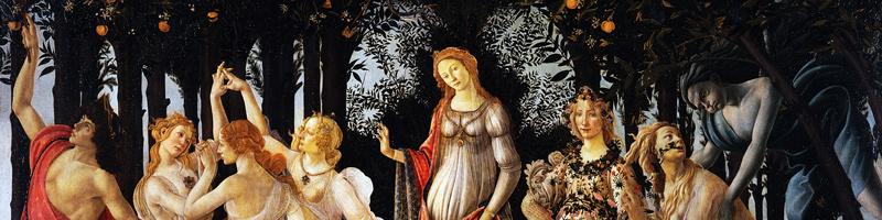 Primavera (1482) by Sandro Botticelli (1445–1510)