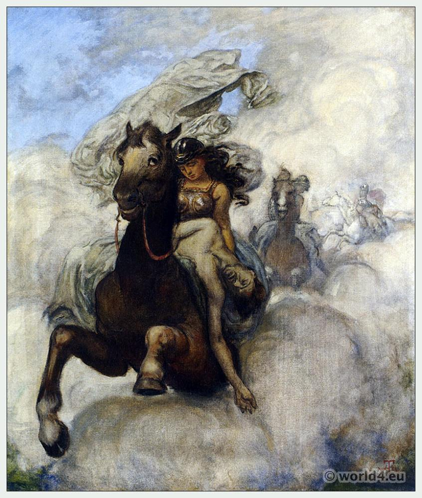 Ride, Valkyrie, Opera, Costumes