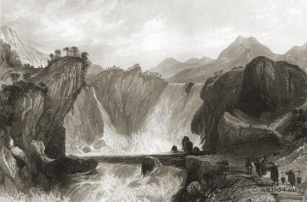 China, Cataract, Shih Tan, Yangtze River,