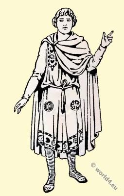 Byzantine, Costume, History, Nobility, dress