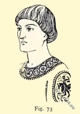 Byzantine, Costume, History, Hairdressing
