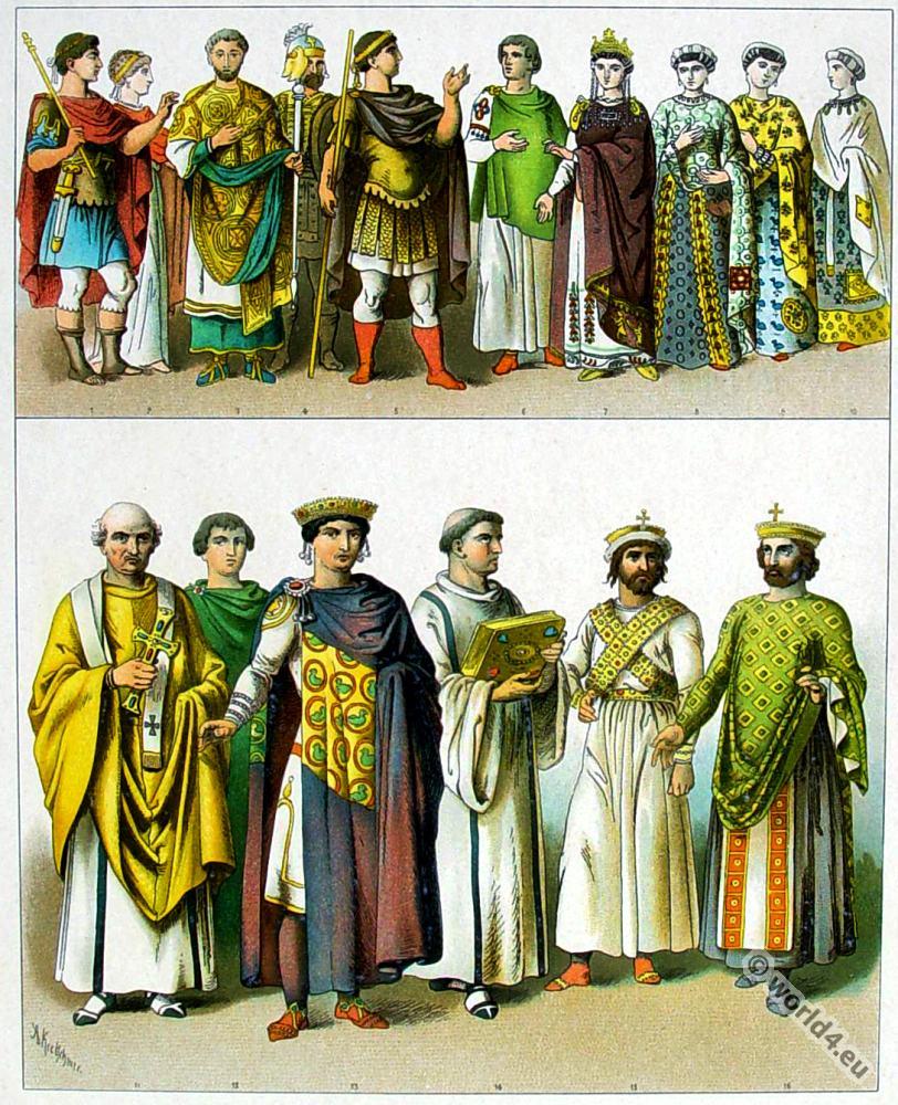 Byzantine, costume, history, Phocas, Heraclius, Zelia Flacilla, Theodosius, ,