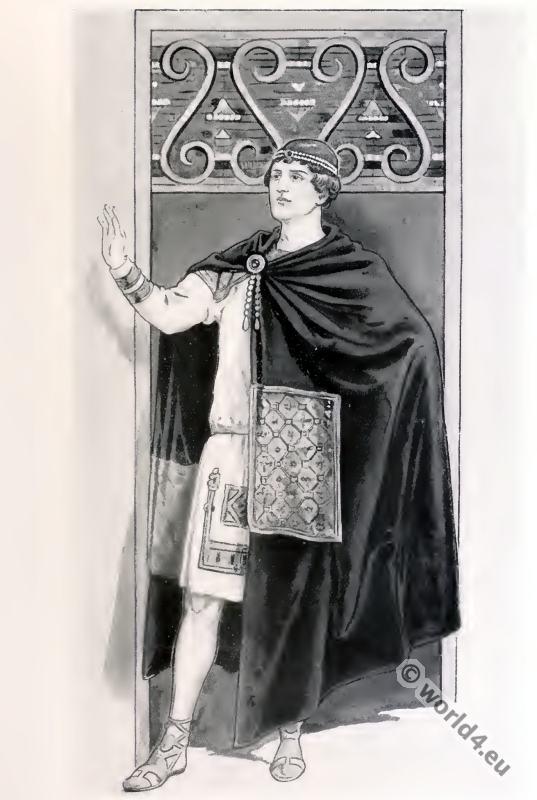 Byzantine, Emperor, costume, history,