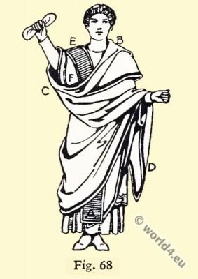 tunica talaris, Byzantine, Costume, History, Senator