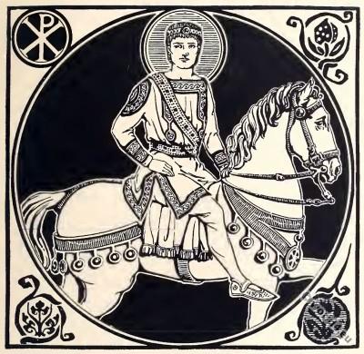 Byzantine, Costume, History Justinian, Great,