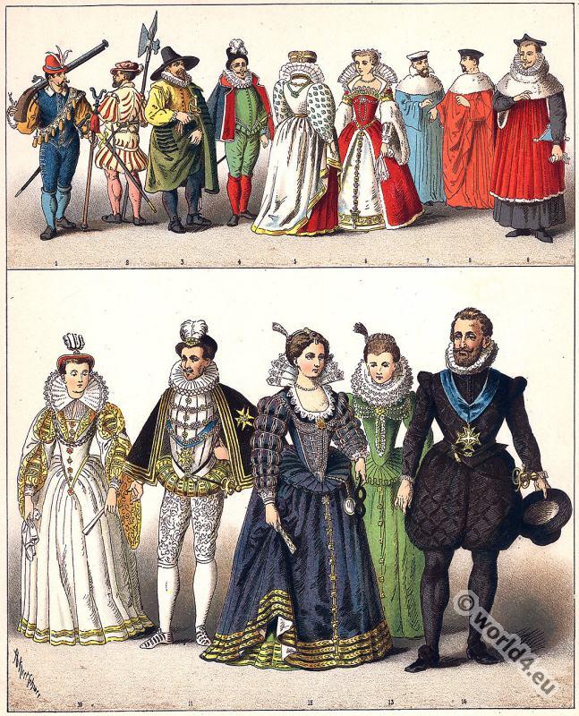 fashion history, court, dresses, renaissance, costumes