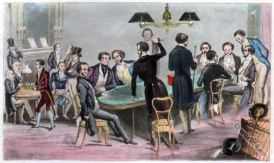 Crockford, Club, Dandy, England, Regency, costumes, fashion