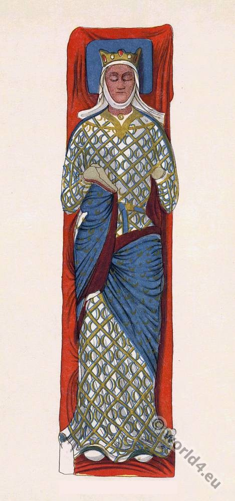 Eleanor of Aquitaine, England, Queen, effigy, Abbey, Fontevraud, middle ages, 12th century