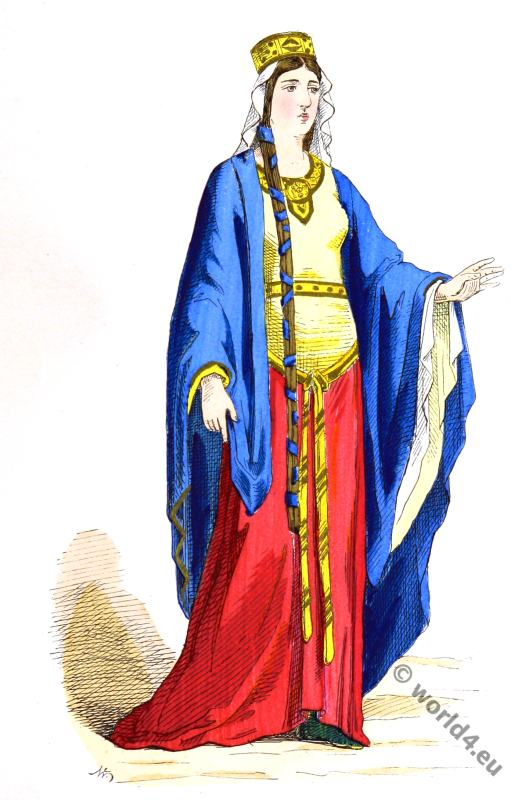 Merovingian queen costume