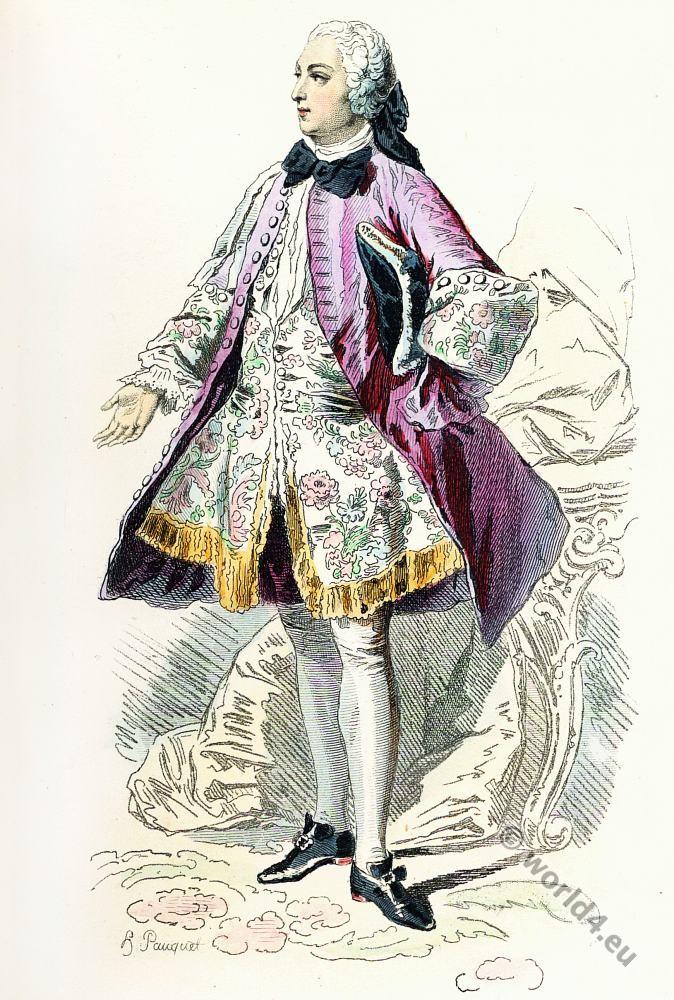 fashion, history, rococo, costume, allonge wig