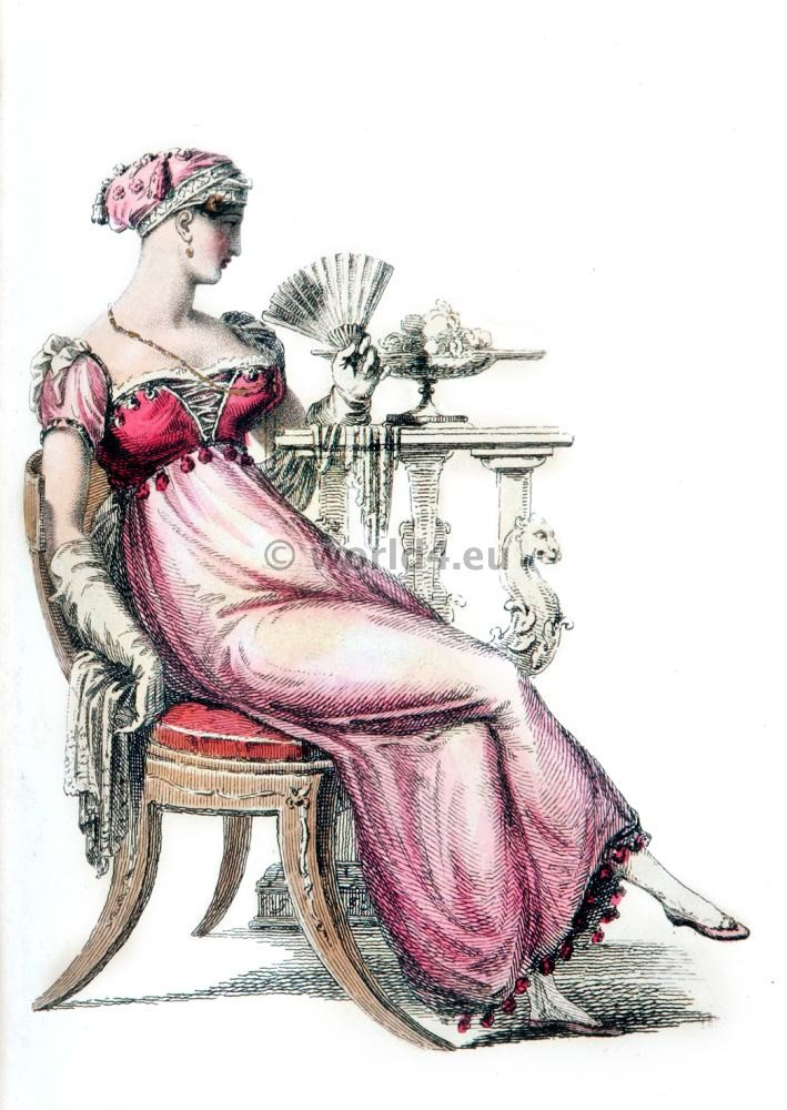 Ball dresses, First Empire, Fashion history, regency, costumes