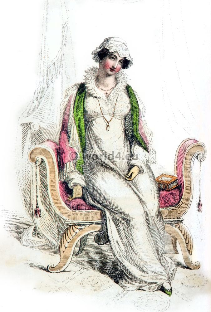 Morning dresses, First Empire, Fashion history, regency, costumes