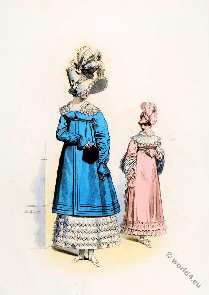 Les Dames de Paris. Horace Vernet.