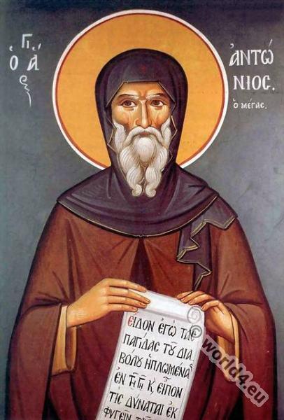 Saint Anthony, Roman, Catholic, History, Copt,Anthony of Egypt