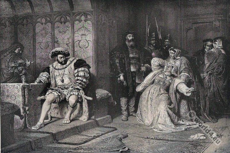 Anne Boleyn, Henry, Eighth, Tudor, King, Queen, England,