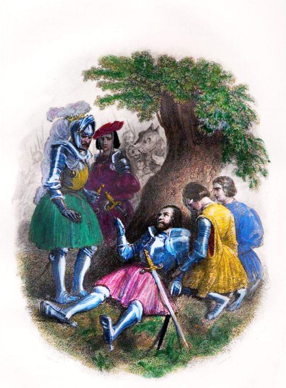 Chevalier Bayard, Medieval, Knight,