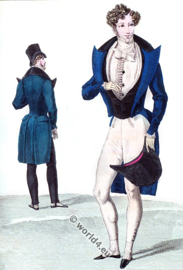 French menswear of the restoration