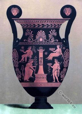 Vase, Ancient, Greek, Art, Painting,