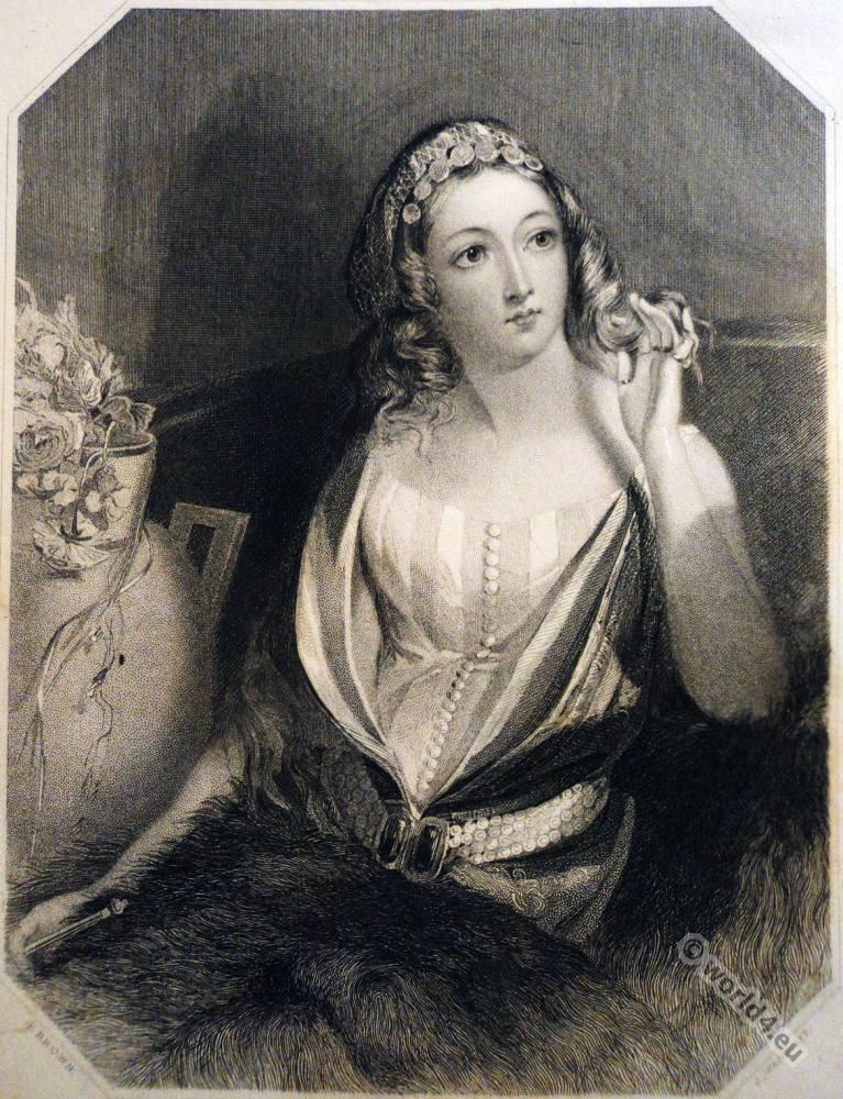 Black romance,  Lord Byron, Don Juan, Haidée, Romanticism.