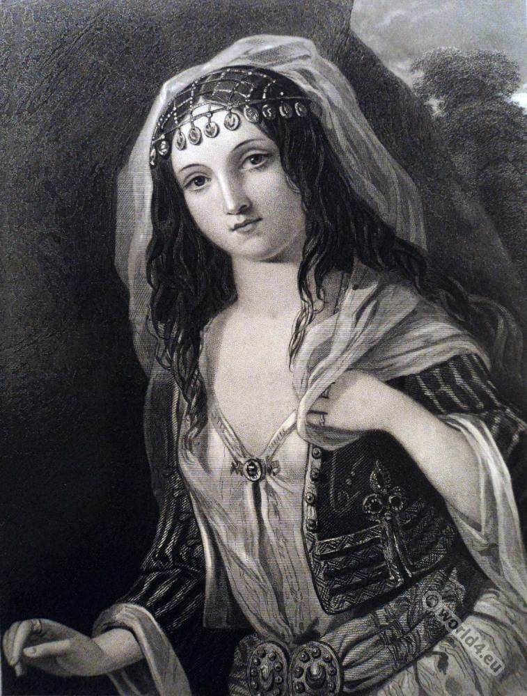 Black, romance, Lord Byron, Don Juan, Haidée, Romanticism