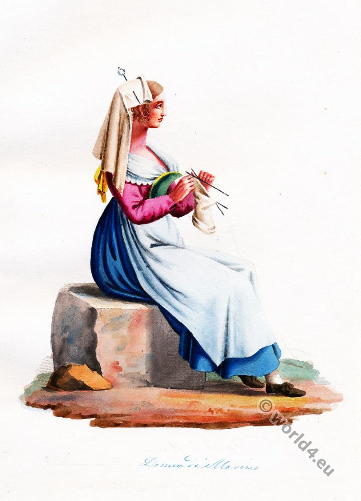Italy, Marino, Lazio, traditional, clothing, costume,