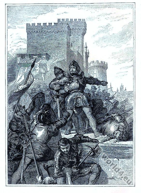 Pierre du Terrail, knight, Chevalier, Bayard,