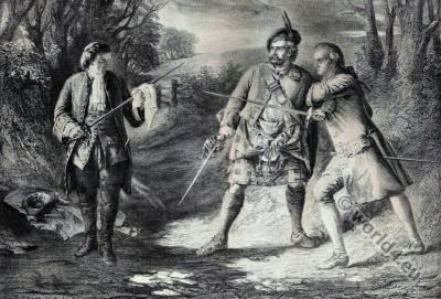 Rob Roy, Scottish, folk, hero, outlaw, Rashleigh, Francis Osbaldistone,