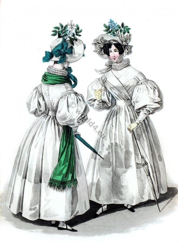 Embroidered chiffon dresses