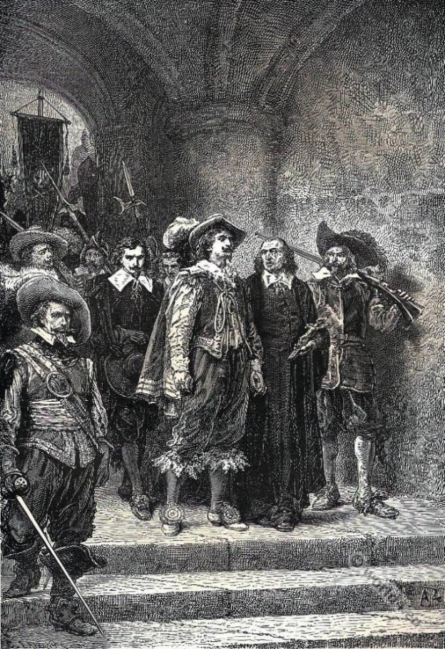 French Romantics. Alfred de Vigny. Louis XIV fashion costumes.