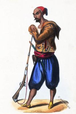 Algeria, Regular, infantry, Abdel-Kader, uniform, africa