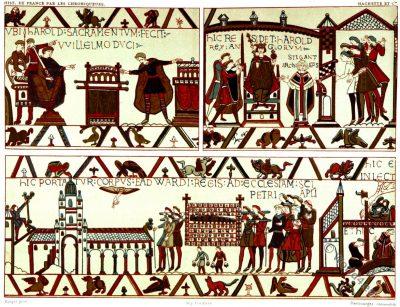 Bayeux Tapestry. Tapisserie de Bayeux.