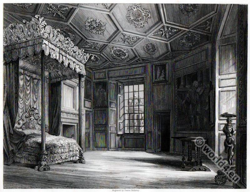 Holyrood, Bedroom, Mary Stuart, Queen, Scots
