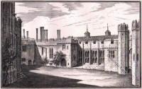 Berkeley Castle from the Gateway Gloucestershire
