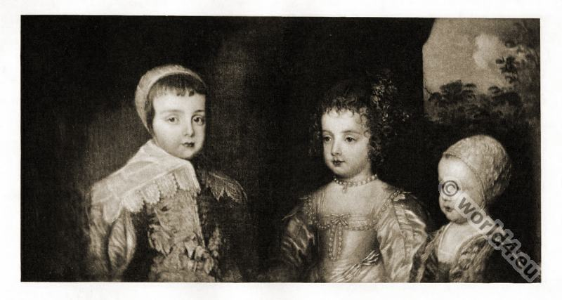 Charles, James V, Mary Stuart, England, Children