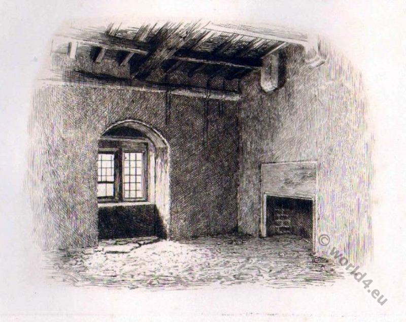 Mary Stuart, Chamber, Bolton Castle,