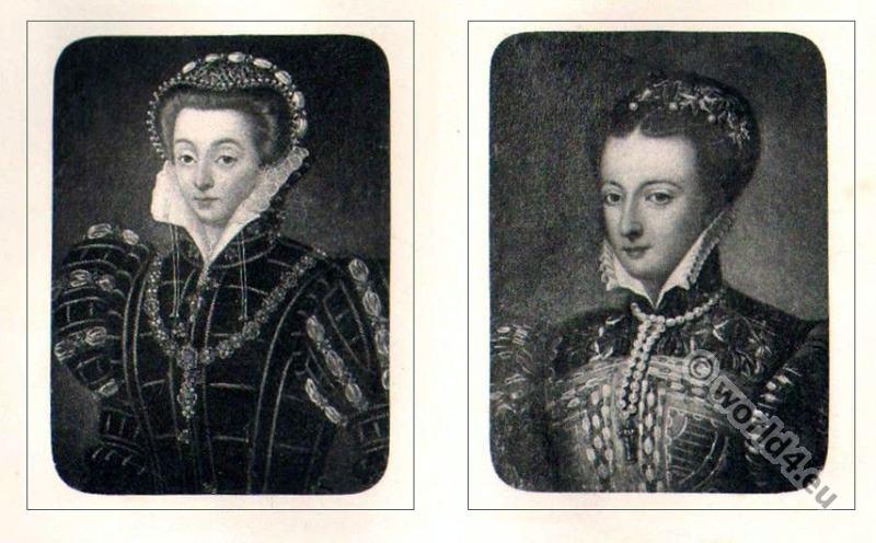 Mary, Stuart, England, Tudor, Queen, Scotland, Renaissance, costume