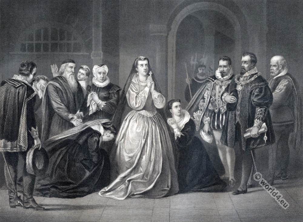 Mary Stuart, Queen, Last moments,