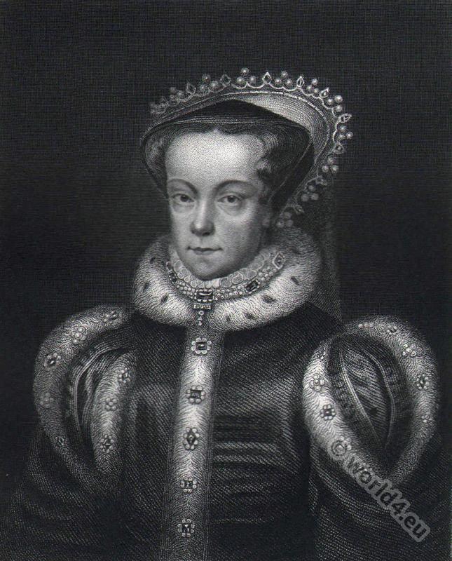 Portrait, Mary Stuart, Queen,