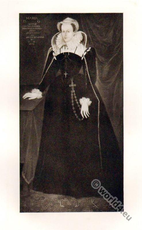 Mary Stuart, Rosary, Crucifix, Renaissance,