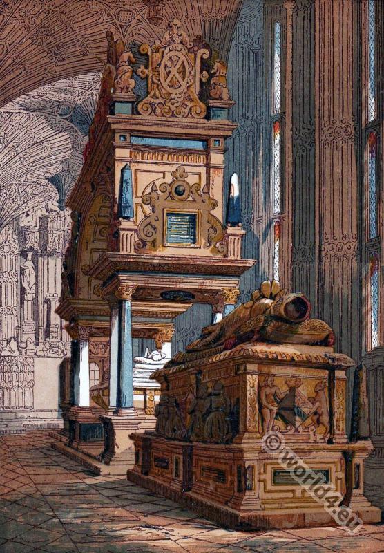 Mary Stuart, Tomb, Westminster, Abbey, London