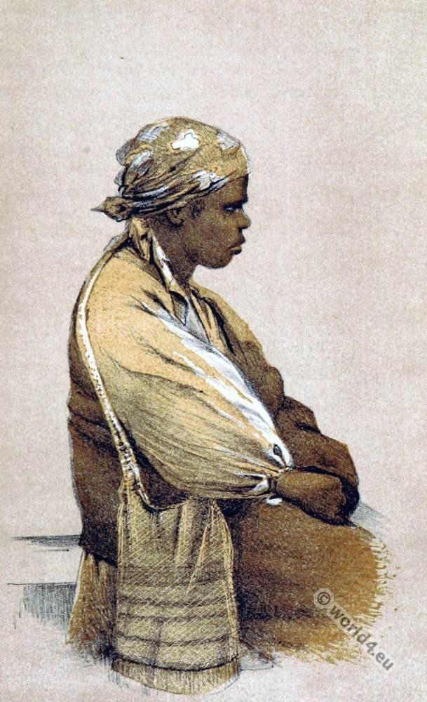 Native tribes Australia. Teenminnie, Aboriginal