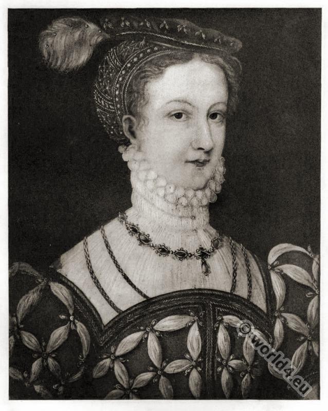 Mary, Stuart, England, Tudor, Queen, Scotland,  costume