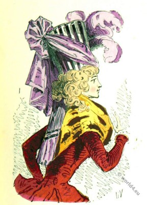 Bonnette, Turban, headdresses, Rococo, fashion