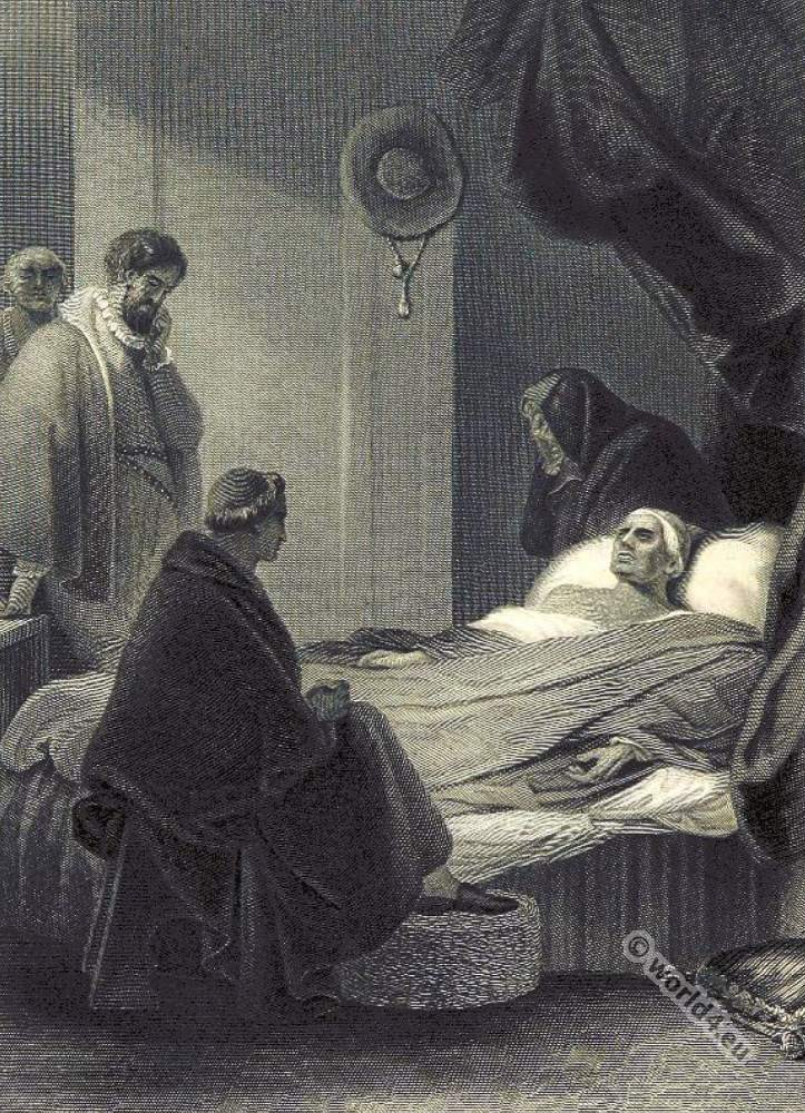 Death, Cardinal Wolsey, 16th century, Tudor, British history,