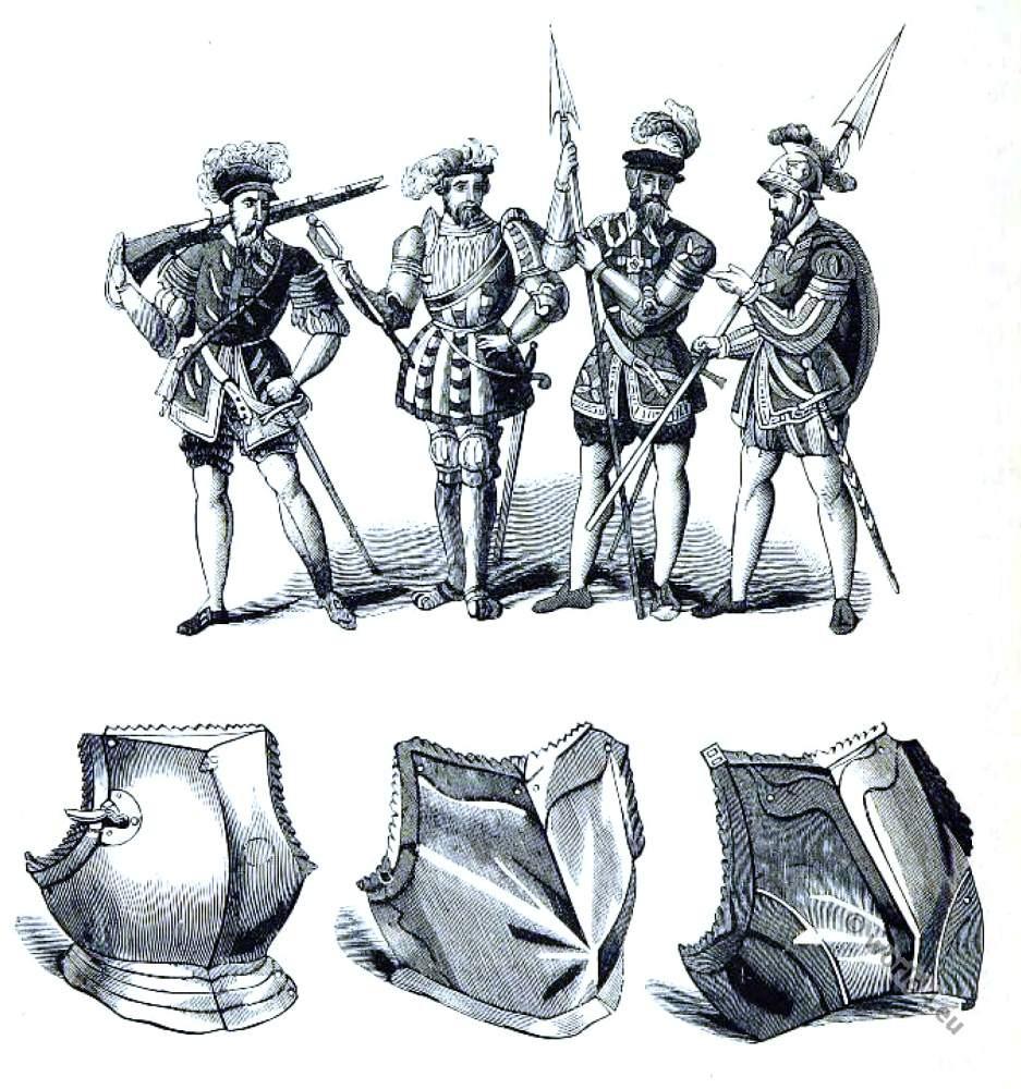 England, Tudor, Military, costume, 16th century, Henry VIII