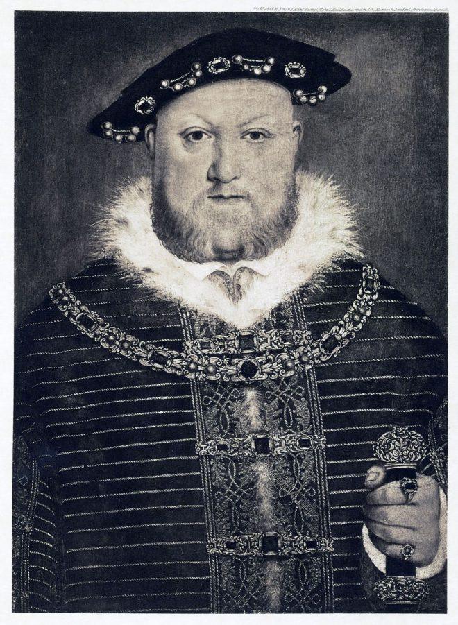 Portrait, Henry VIII, Tudor, Hornebold,