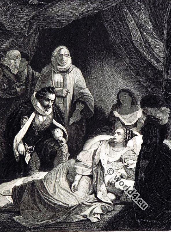Death, Queen, Elisabeth, history, Tudor, 16th century