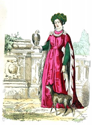 French princess. Madeleine of France. Renaissance clothing