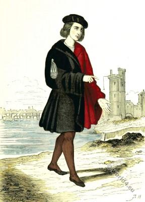 Alderman. Renaissance character costume. 16th Century clothing.